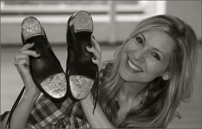 Me and my tap shoes
